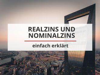 realzins und nominalzins einfach erklärt