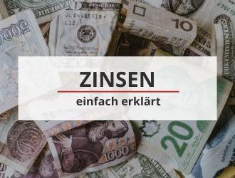Zinsen einfach erklärt