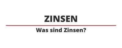 Zinsen